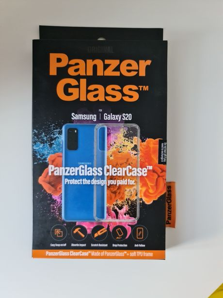 Nowy Case/Etui  Samsung S20 panzerglass