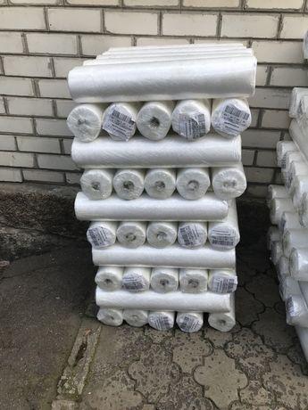 Одноразовые простыни Белые  из спанбонда, в рулоне 0,8×100 20 г/м2