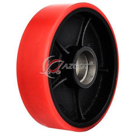 Rolka 200*50 czerwona żeliwna
