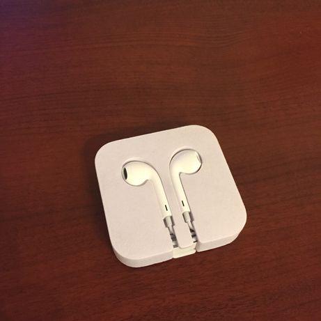 Оригинальные EarPods (3,5mm) из комплектации плеера iPod Touch 6 Gen