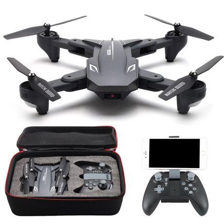 Drone dobrável com WiFi e dupla Câmara 2MP