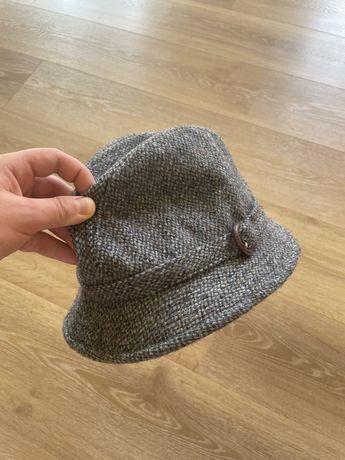 Шляпа harris tweed шерстяная жиганка(kangol, failsworth, barbour)