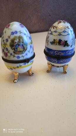 Porcanowe otwierane jajeczka komplet