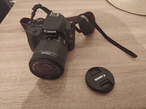 Aparat Canon EOS 100D wpełni sprawny mało uzywany