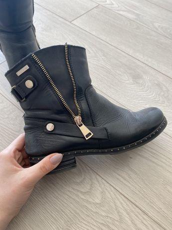 Damskie buty ze skóry