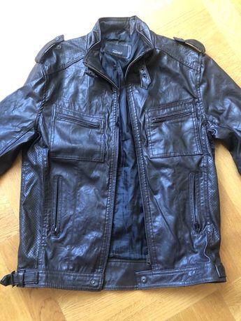 Кожанная куртка Zara мужская