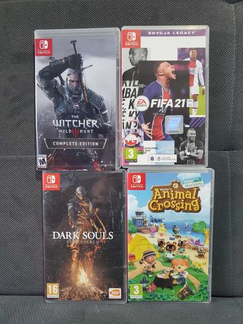 Gry Nintendo Switch /super tytuły/ zamiana na inne