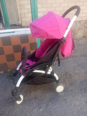 Коляска прогулочная Baby Throne(Черный чехол Микки а подарок)