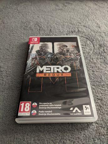 Metro Redux Nintendo Switch PL Stan Idealny
