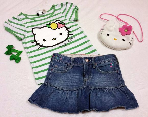 Conjunto Hello Kitty 5-6anos