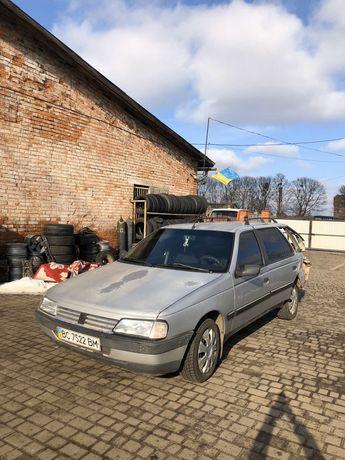 Peugeot 405.  1.6 газ/бензин . После ДТП