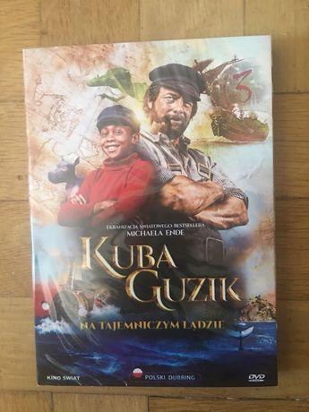 """Film DVD """"Kuba Guzik na tajemniczym lądzie""""-nowa"""