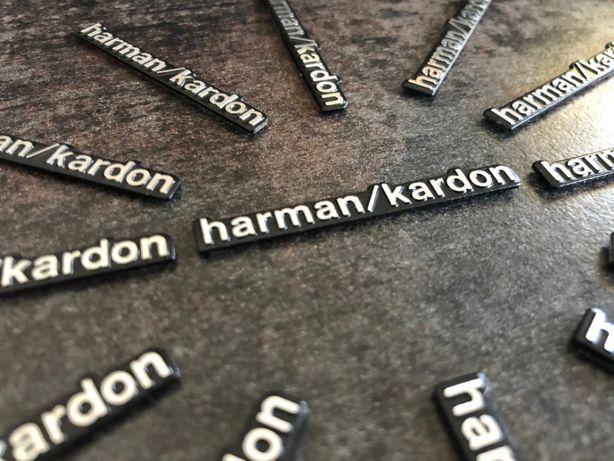 HARMAN / KARDON - naklejka, emblemat - aluminium, znaczek, logo