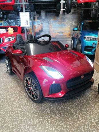 Samochód JAGUAR F-TYPE na akumulator dla dzieci Lakierowany Hit