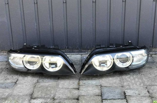 Фара левая правая Галоген BMW X5 E53 фары БМВ Х5 Е53 фари Розборка