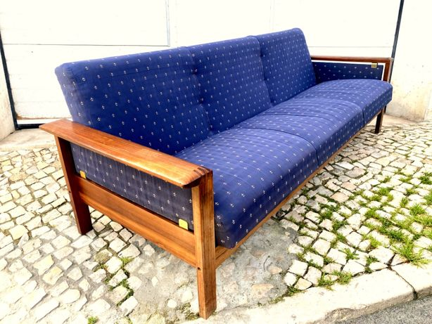 Cadeirão sofá cama 3 lugares olaio vintage 211comp x 80prof x 74alt.