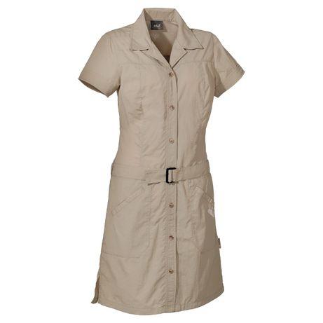 JACK WOLFSKIN safari sukienka długa koszul M jnowa