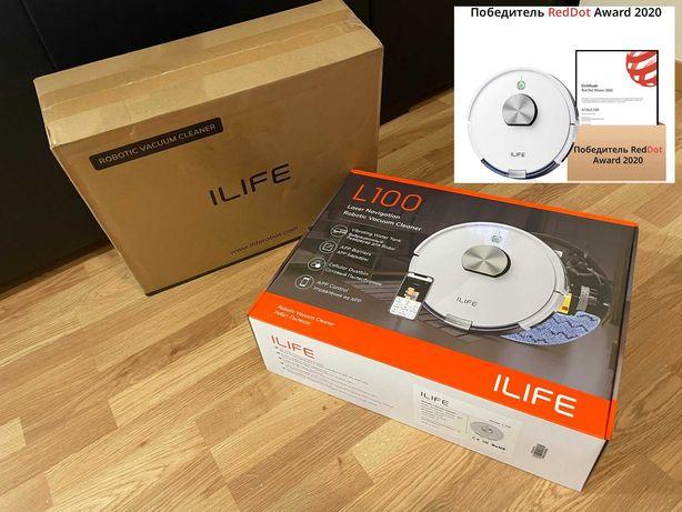 Новый ILIFE L100 робот-пылесос с лазерной навигацией ,оригинал