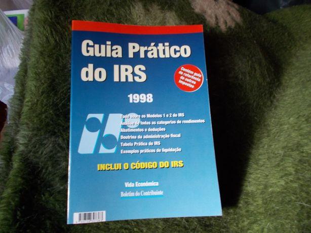 Livro Guia prático do IRS de 1998