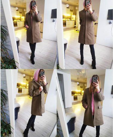 Стенганое синтепоновое пальто.
