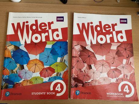 книги з англійської мови WIDER WORD