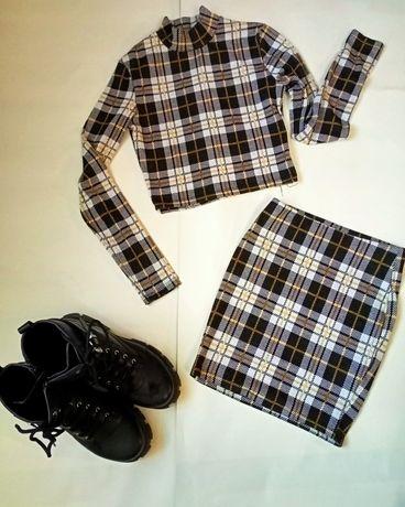Топ и юбка бренд FB sister