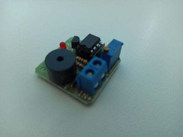 Zabezpieczenie akumulatora żelowego 12V jak i li-ion  - łódka zanętowa