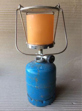Lanterna Campingaz + garrafa