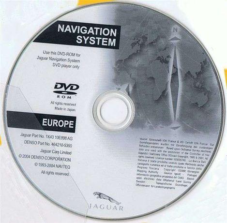DVD / CD JAGUAR - Atualização GPS / Navegação