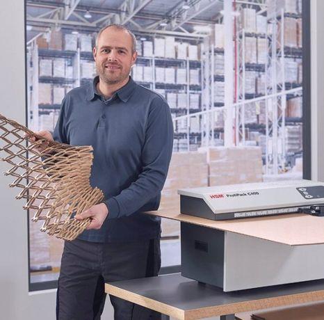 HSM ProfiPack C400 Urządzenie do produkcji wypełniacza ! Od ręki !