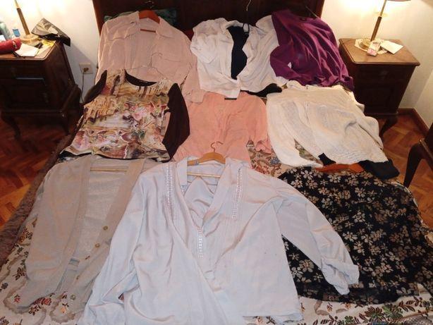 Roupa Mulher vintage top qualidade casacos camisas blusas tops desde1E