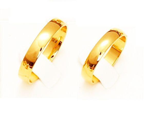 GRAWER Piękne Klasyczne Obrączki 333 Złote 2 3 4 5 6 mm (585) Ślubne X