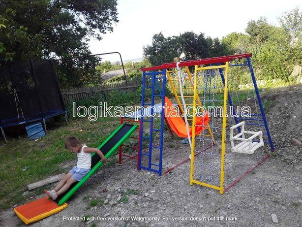 Спортивный комплекс, горка, качели, детская площадка для двора и дома