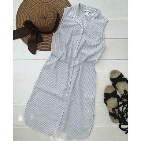 Платье-рубашка из тончайшего хлопка