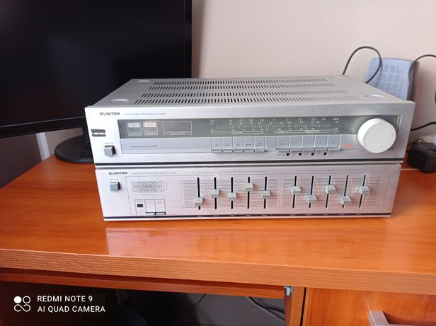 UNITRA Tuner Digitale AS 632 i UNITRA equalizer Digitale FS 032