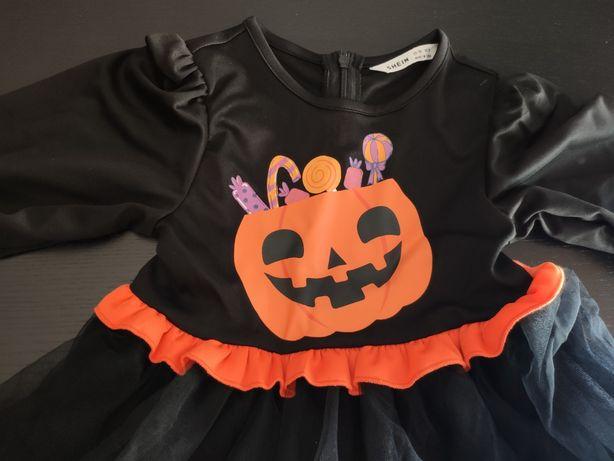 Vestido menina Halloween