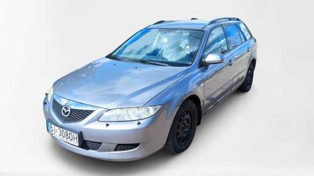 Rezerwacja / Mazda 6, 2002 r., kombi, skóry, opłaty, Dużo tanich aut