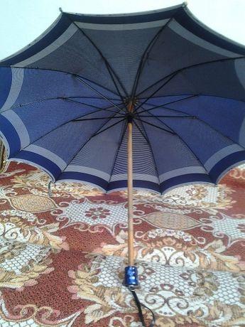 Антикварный зонт 40-50 годов 20ст.