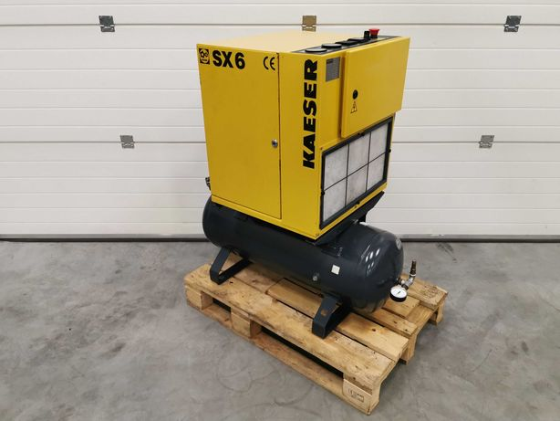 Sprężarka śrubowa 4kw KAESER SX6 kompresor 550l/min 10bar