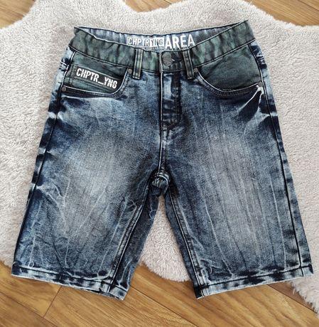 Spodenki jeansowe Takko rozm.152