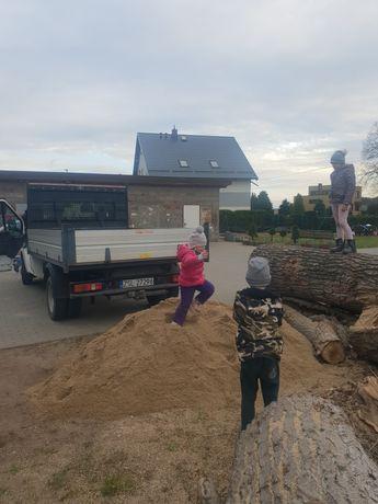 Piasek płukany, siany do piaskownicy, czarnoziem, suchy beton