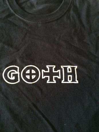 "Koszulka,t-shirt ""GOTH"""