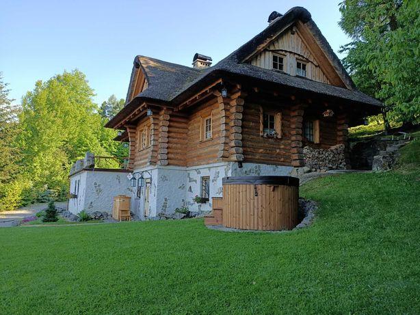Dom góralski Balia, sauna, SPA. Wynajem na wyłączność 6-8 osób