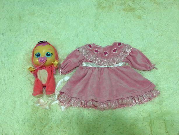 Платье для маленькой принцессы до 1 годика Турция 200 руб