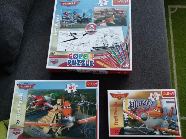 Puzzle Planes samoloty zestaw 3 op