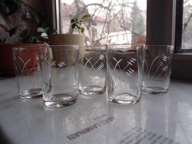 szklanki Ładnie zdobione 100ml 5szt