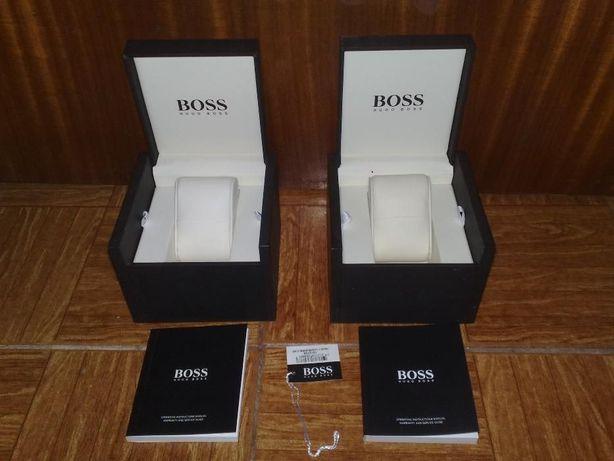 caixa relogios hugo boss para colecionadores