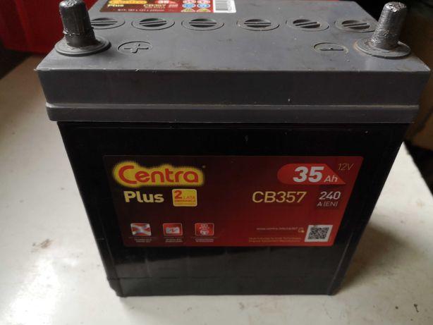 Mała bateria akumulator 35Ah 240A plus z lewej (do matiza)
