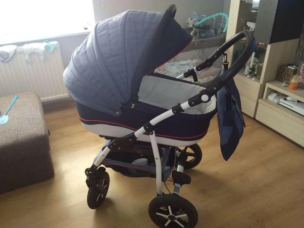 Wózek baby merc 3 w 1 gondola spacerówka fotelik!!!