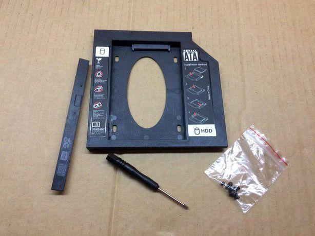 Новый переходник адаптер карман 9.7 12.7 под SSD для ноутбука / 450 р